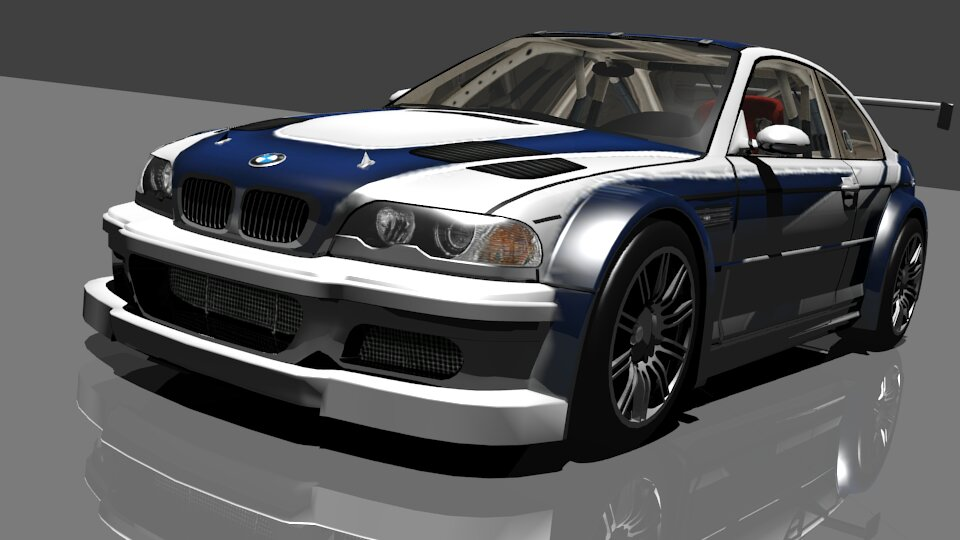 Bmw M3 E46 Gtr From Need For Speed Most Wanted 05
