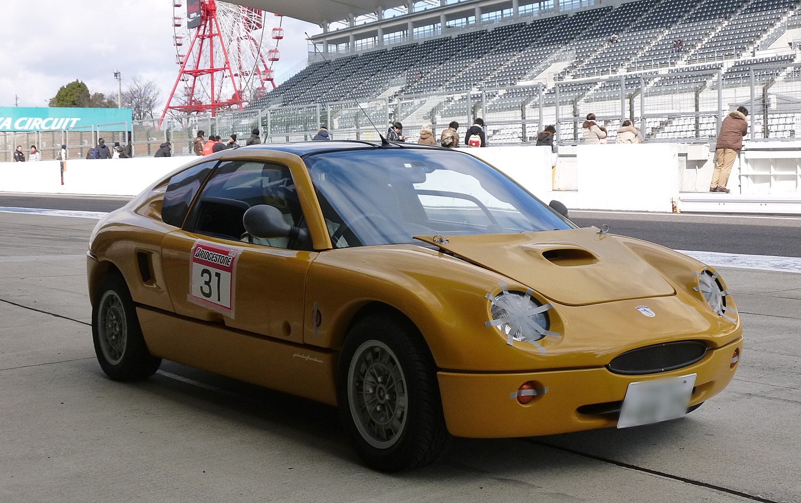 1996 Abarth Scorpione, based on the Autozam AZ-1.
