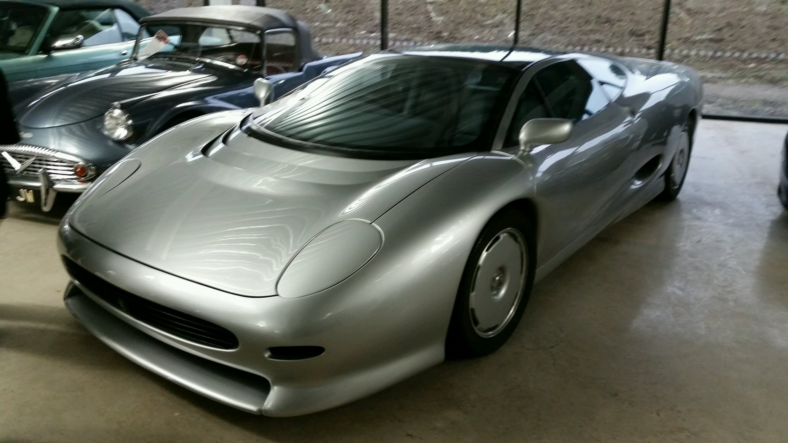 Jaguar   Jaguar Xj220 V12 Prototype   British Cars