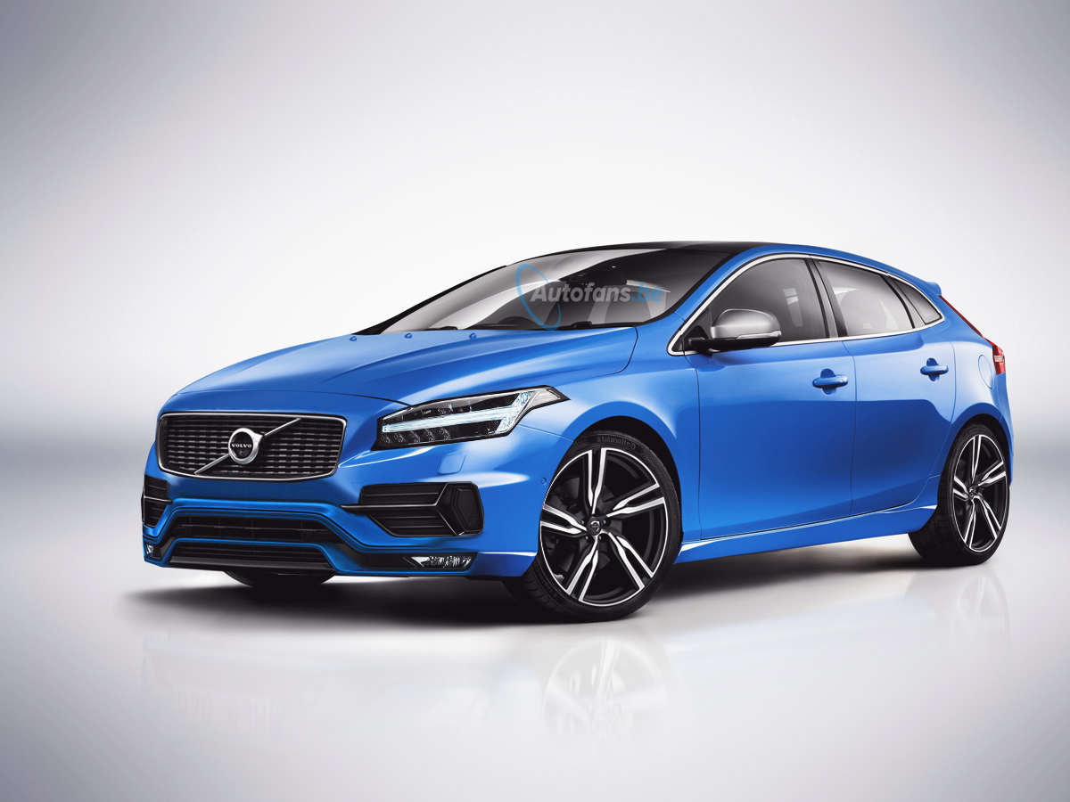 the volvo v40 facelift is heading to the geneva motor show so belgium car site made. Black Bedroom Furniture Sets. Home Design Ideas
