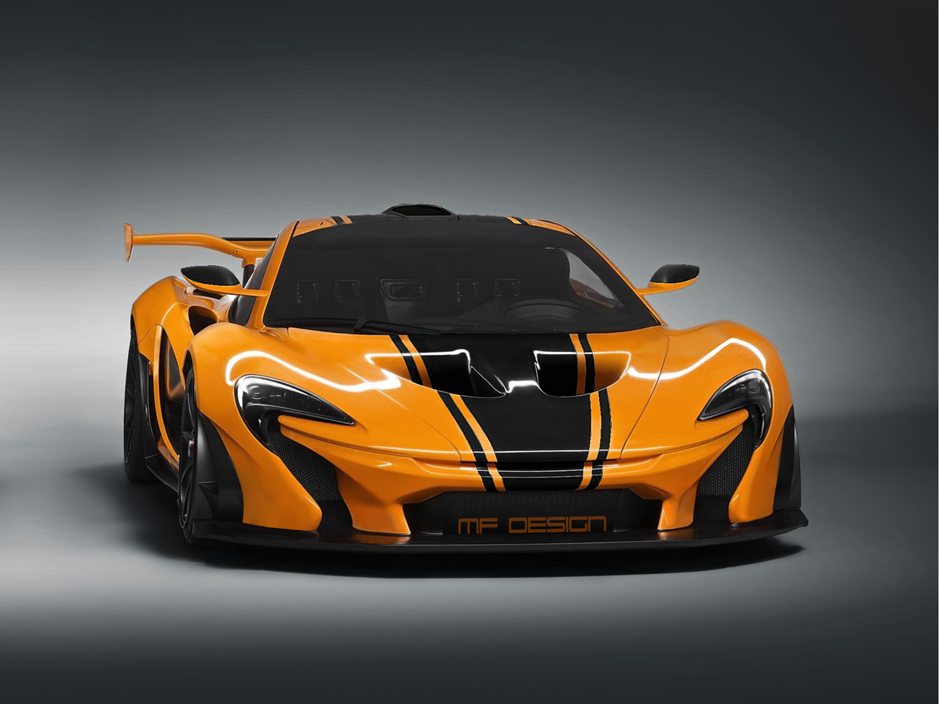 My rendering of a McLaren P1 LM Thoughts