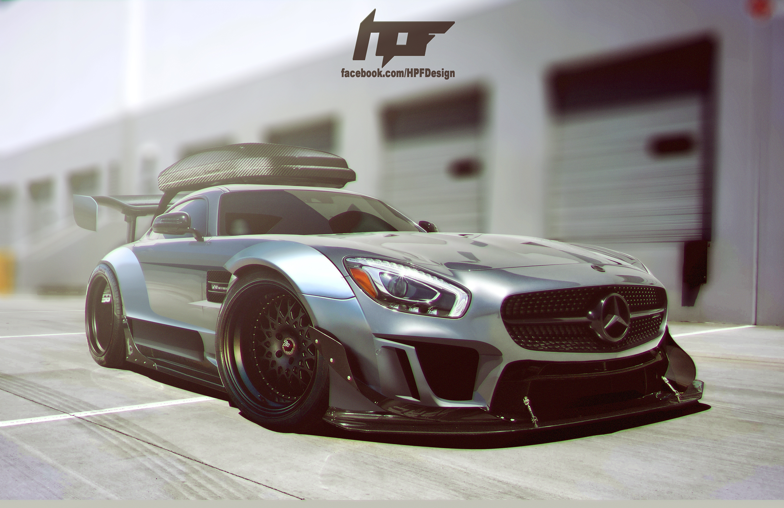 Mercedes Benz Amg Gt Custom Kit