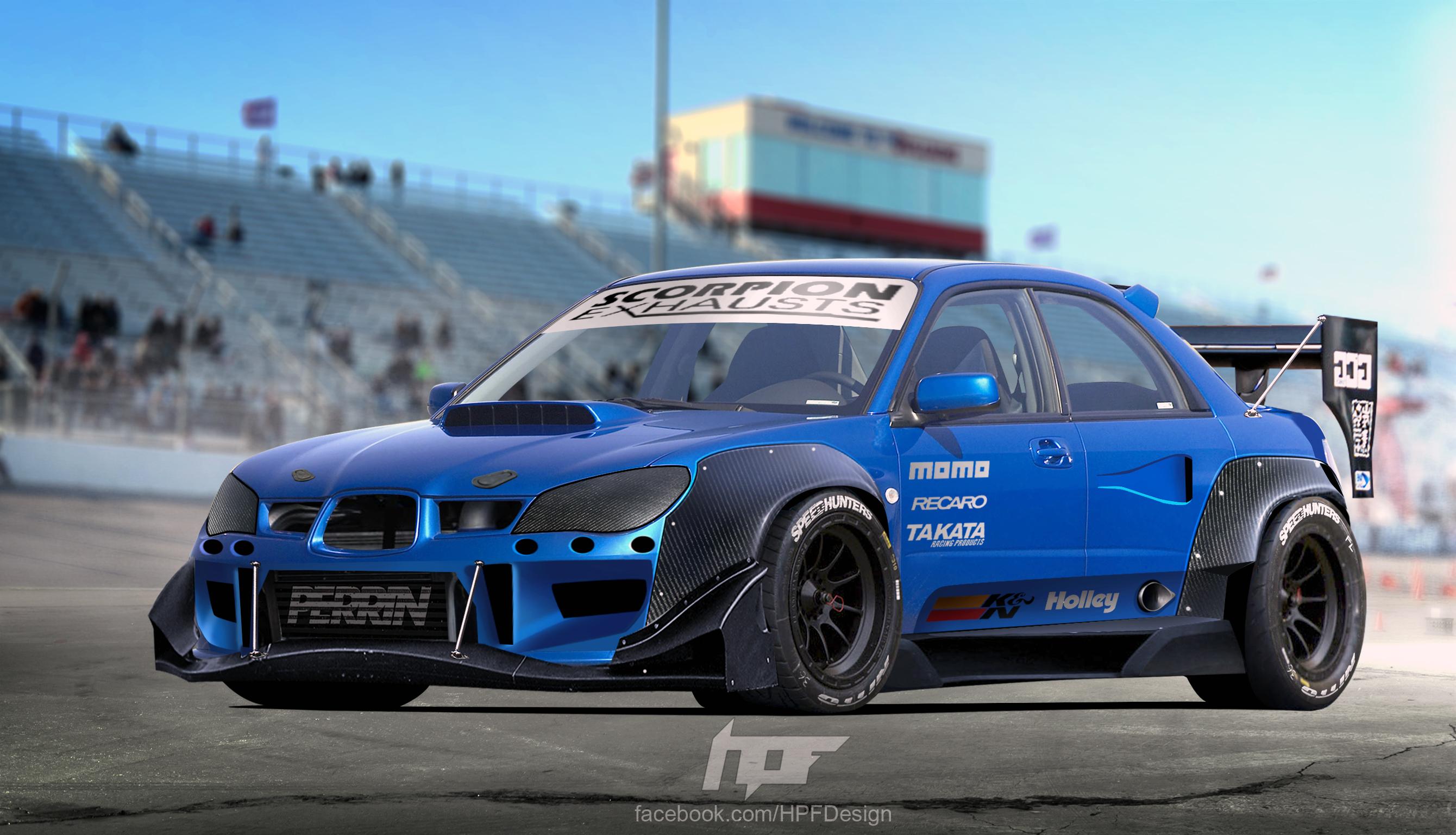 Subaru Race Car >> Subaru Impreza Sti Racecar