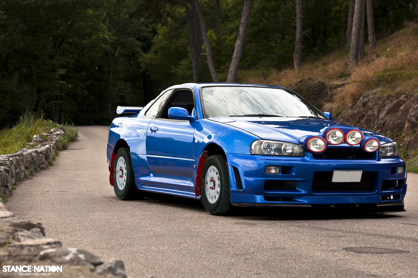 A Quick R34 Rally Build