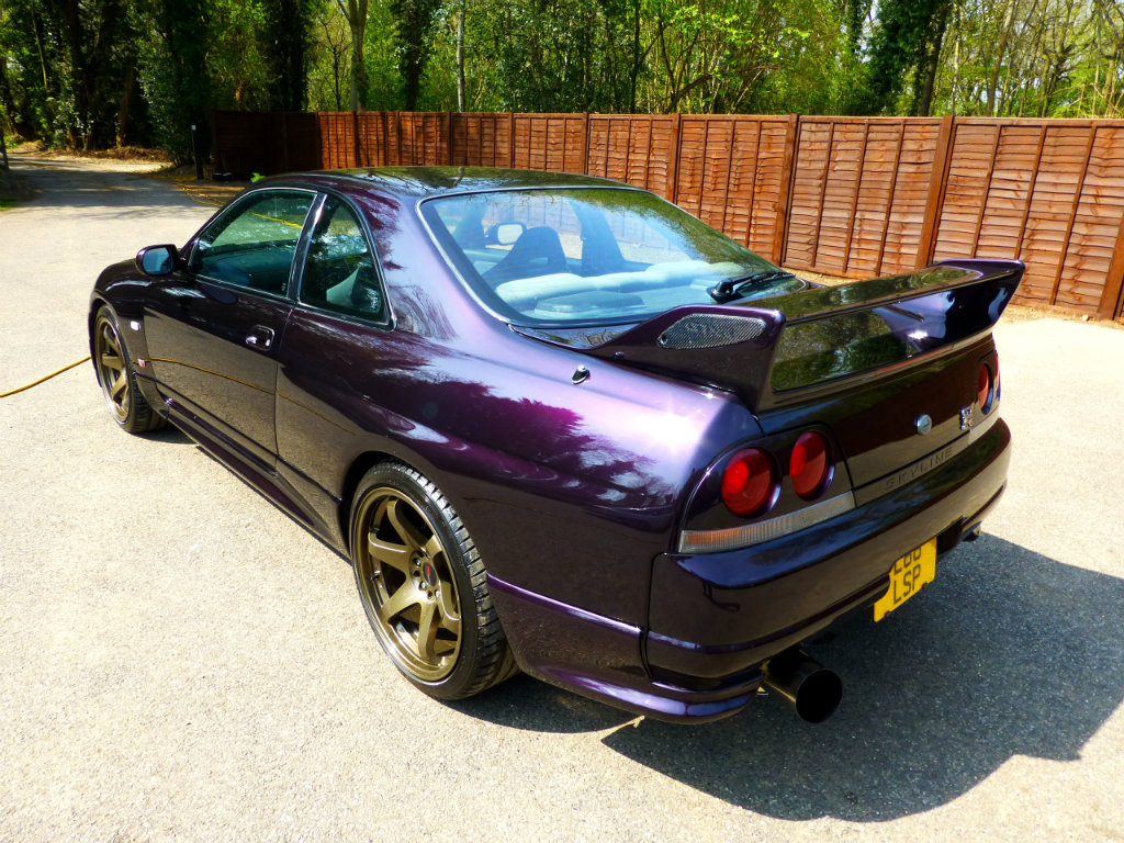 Nissan Skyline Gtr For Sale >> Midnight Purple R33 GTR for sale!