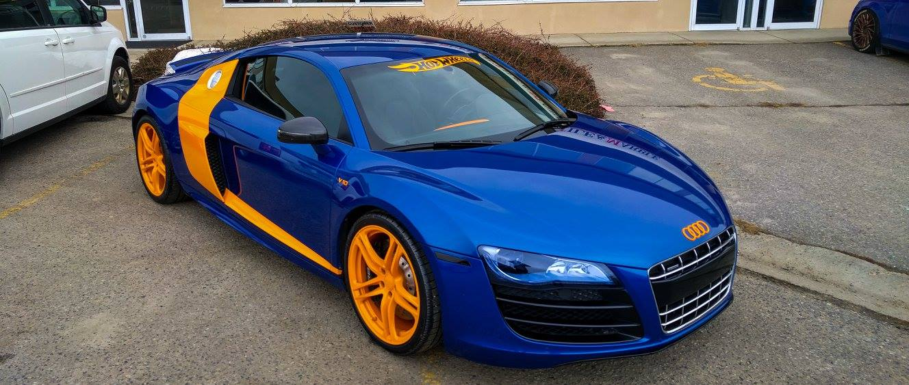 Custom hot wheels edition audi r8 v10 done by mirror image customs audi custom hot wheels edition audi r8 v10 done by mirror image customs in kelowna publicscrutiny Images