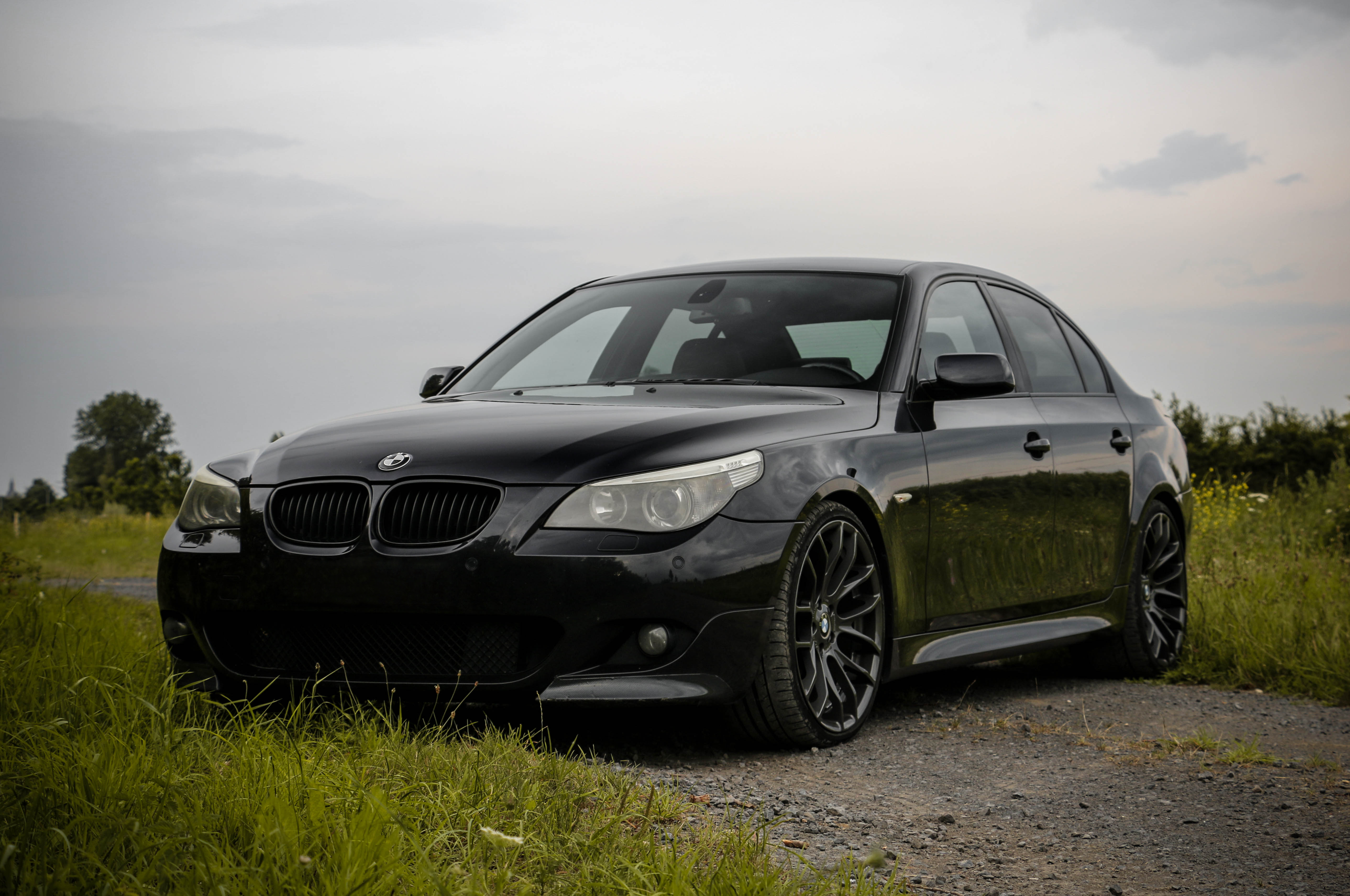 2005 Bmw E60 With M Look And 20inch Breyton Wheels