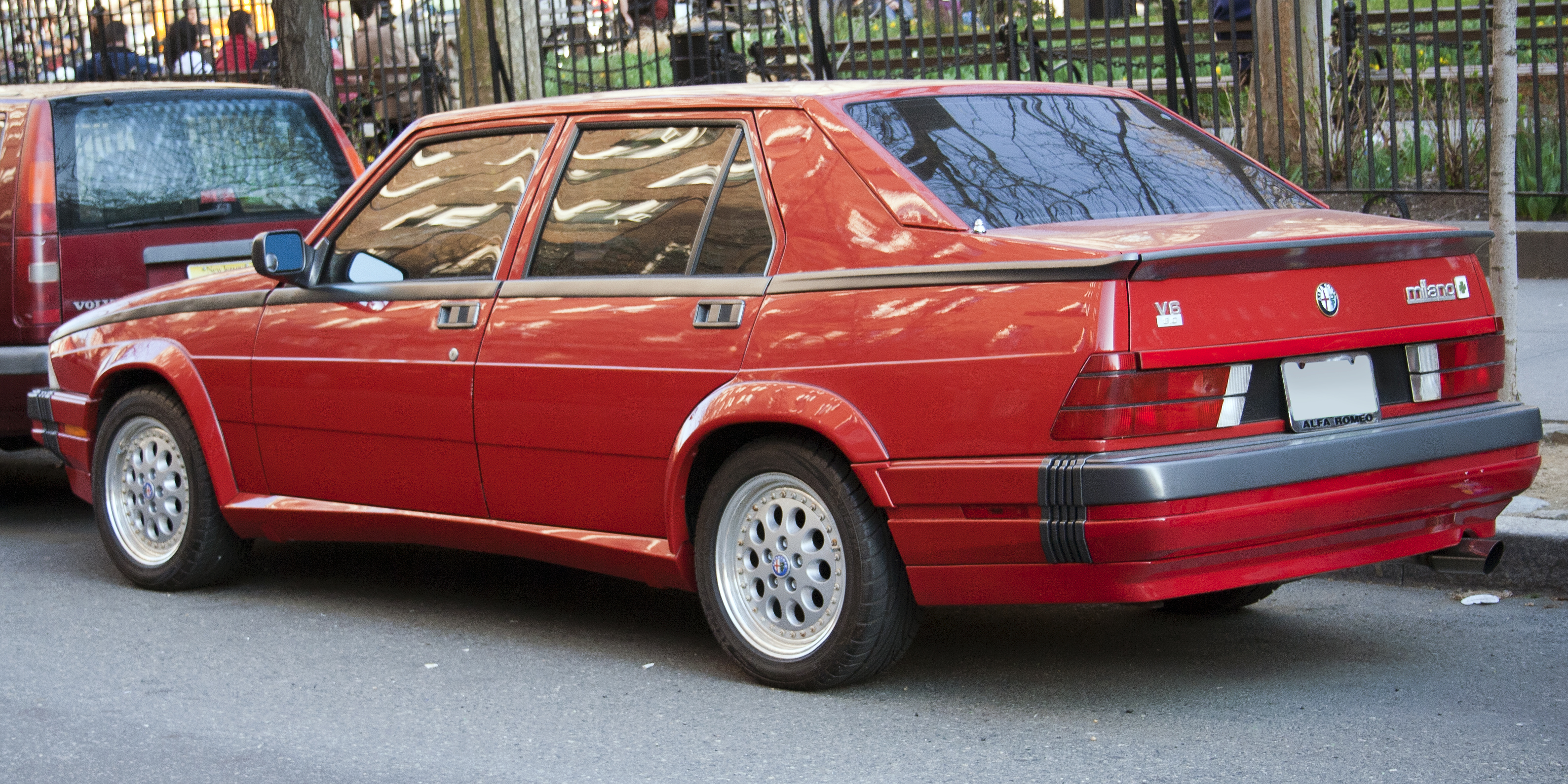 1989 alfa romeo milano verde for sale