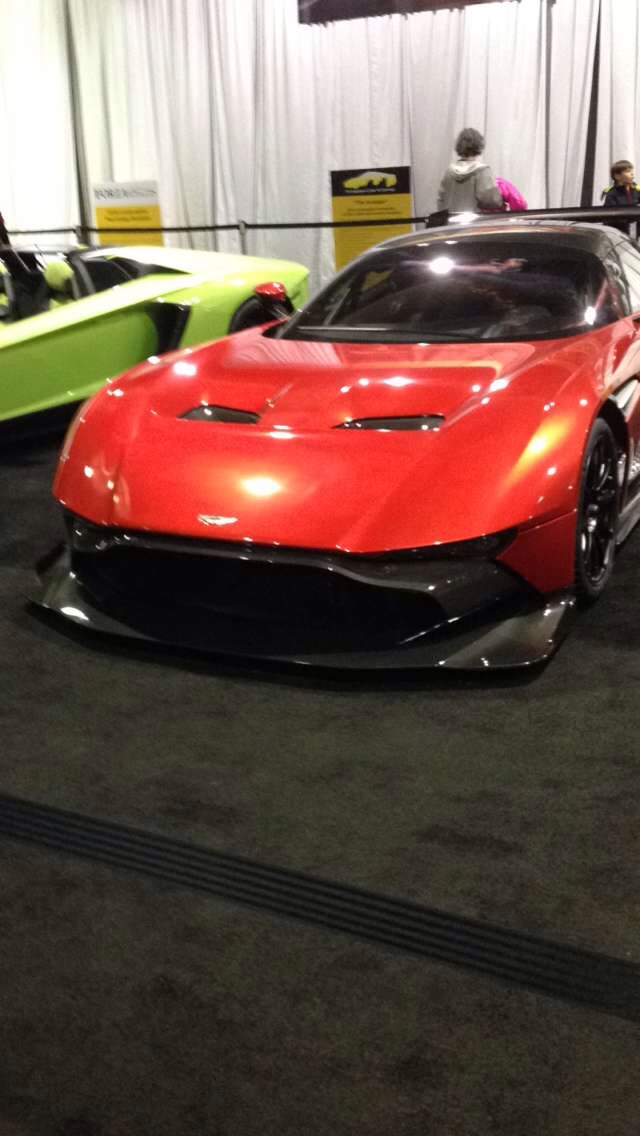 Another Pic From The Pittsburgh Auto Show Aston Martin Vulcan - Pittsburgh car show