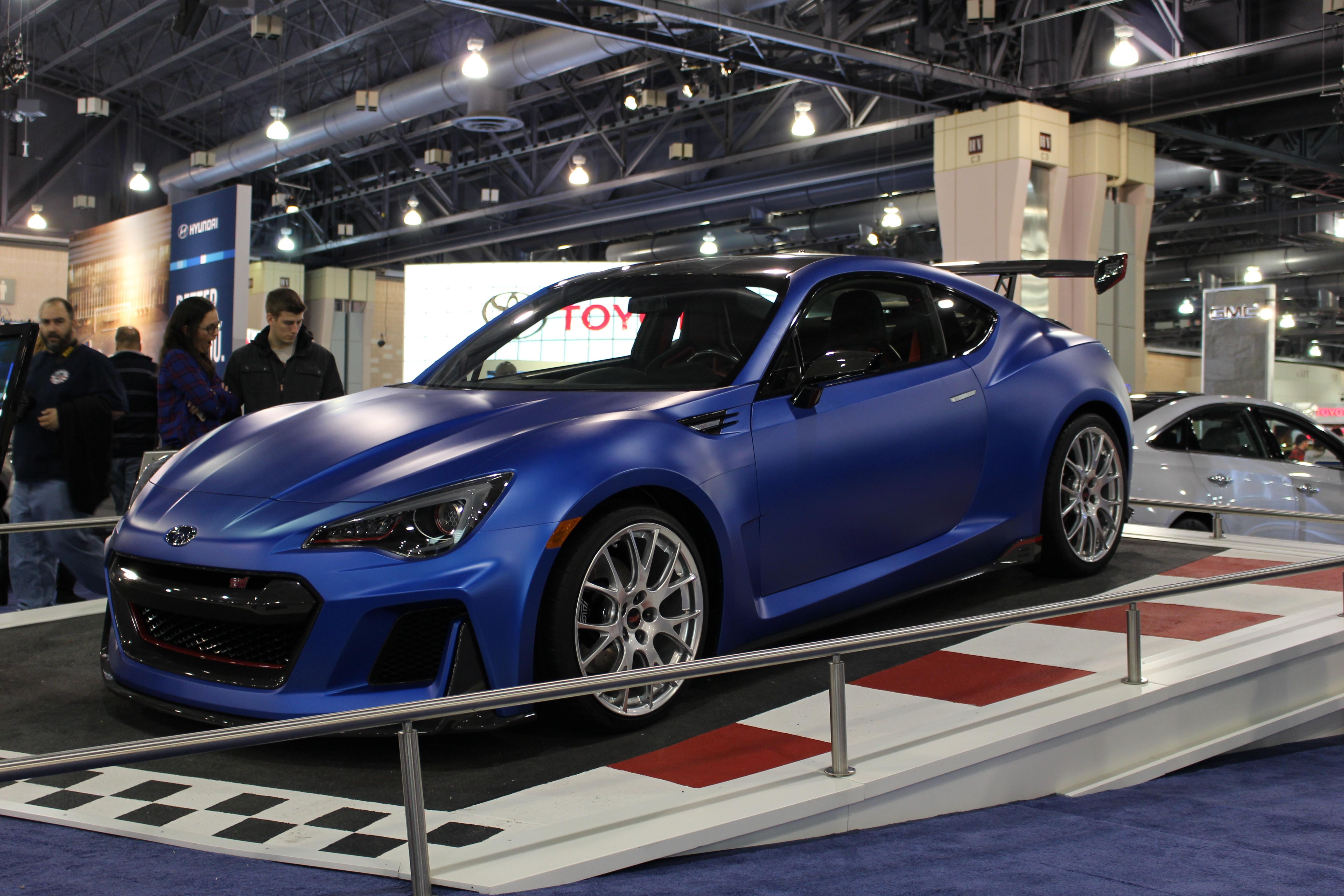 Subaru BRZ STi Concept Gallery From Philly Auto Show Subarubrzsti - Philly car show