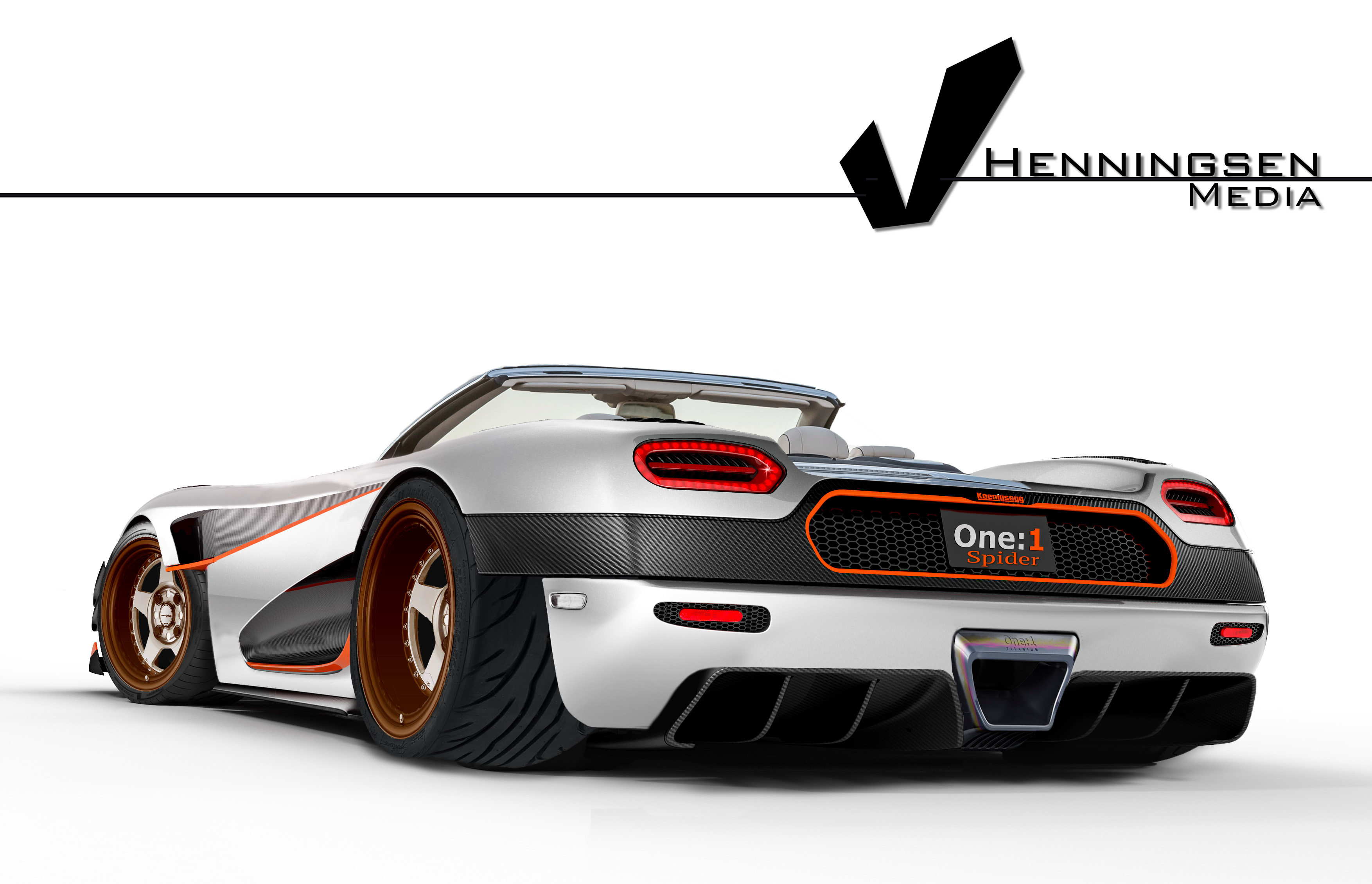 "I made a Koenigsegg e 1 ""Spider"" render InspiredByYasid"