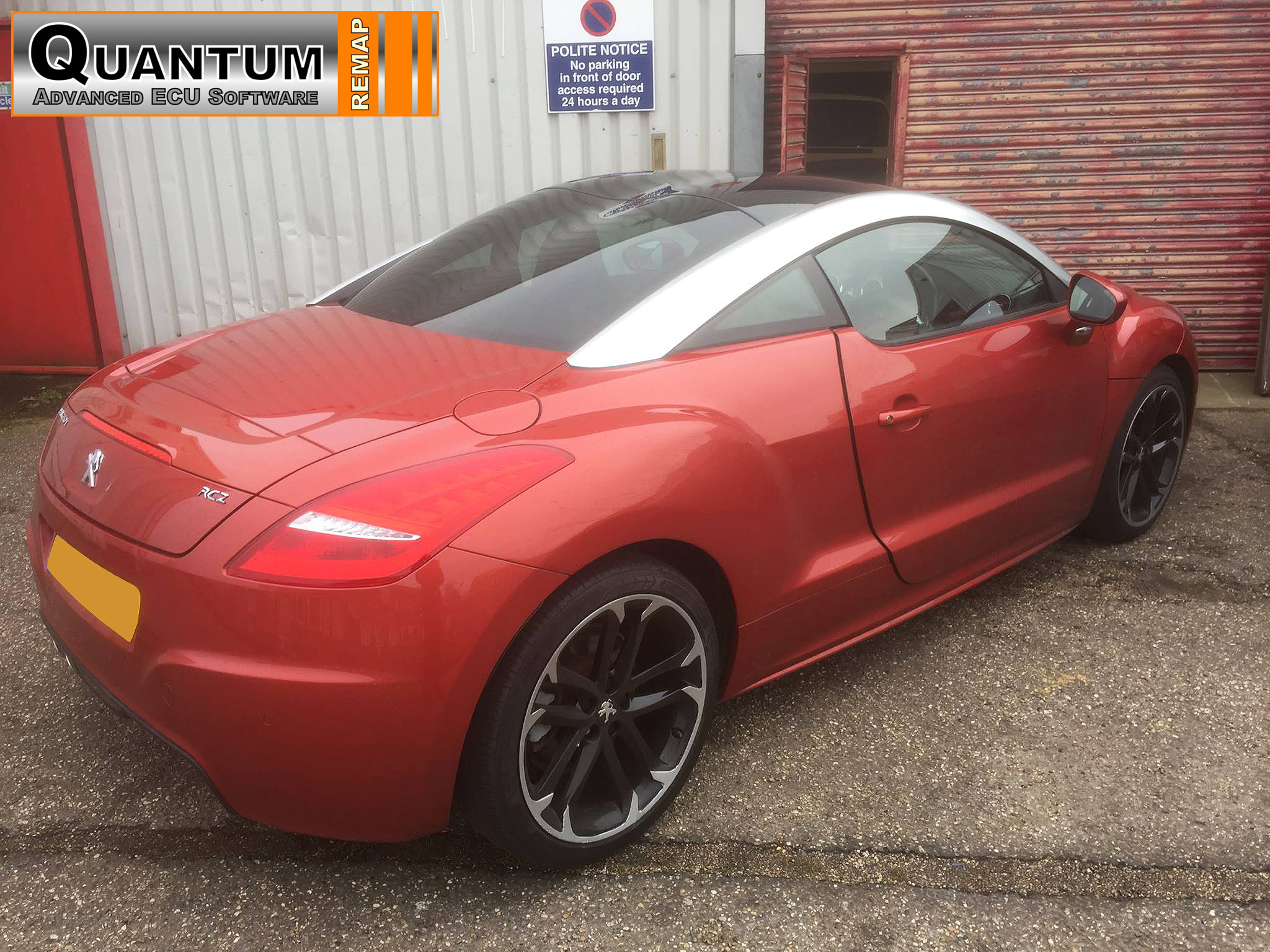 Quantum Tuning Dealers Vag Fanatics Carried Out A Stage 1 Remap With An Egr Delete On This Peugeot Rcz Achieving Gains Of 33bhp And 62nm Of Torque And An Extra 4mpg