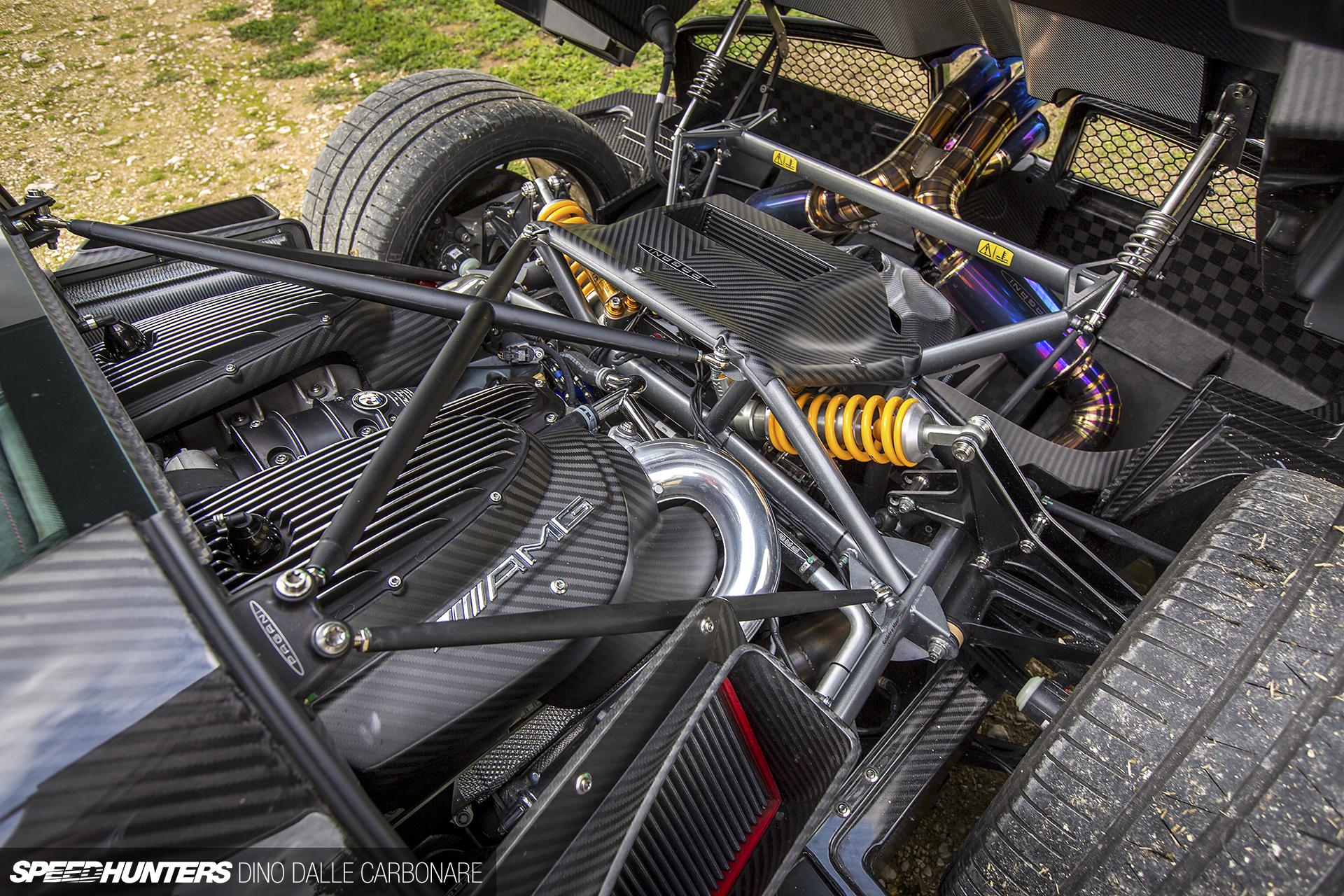Pagani Huayra Bc Engine Bay Supercars Gallery