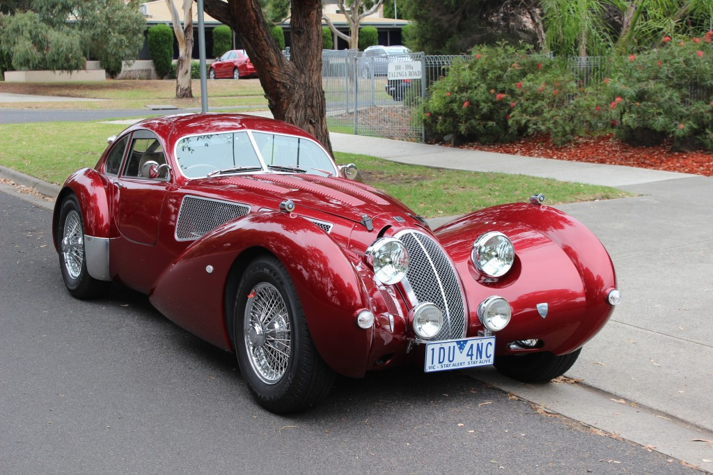 The Devaux is a French Car made in Australia.