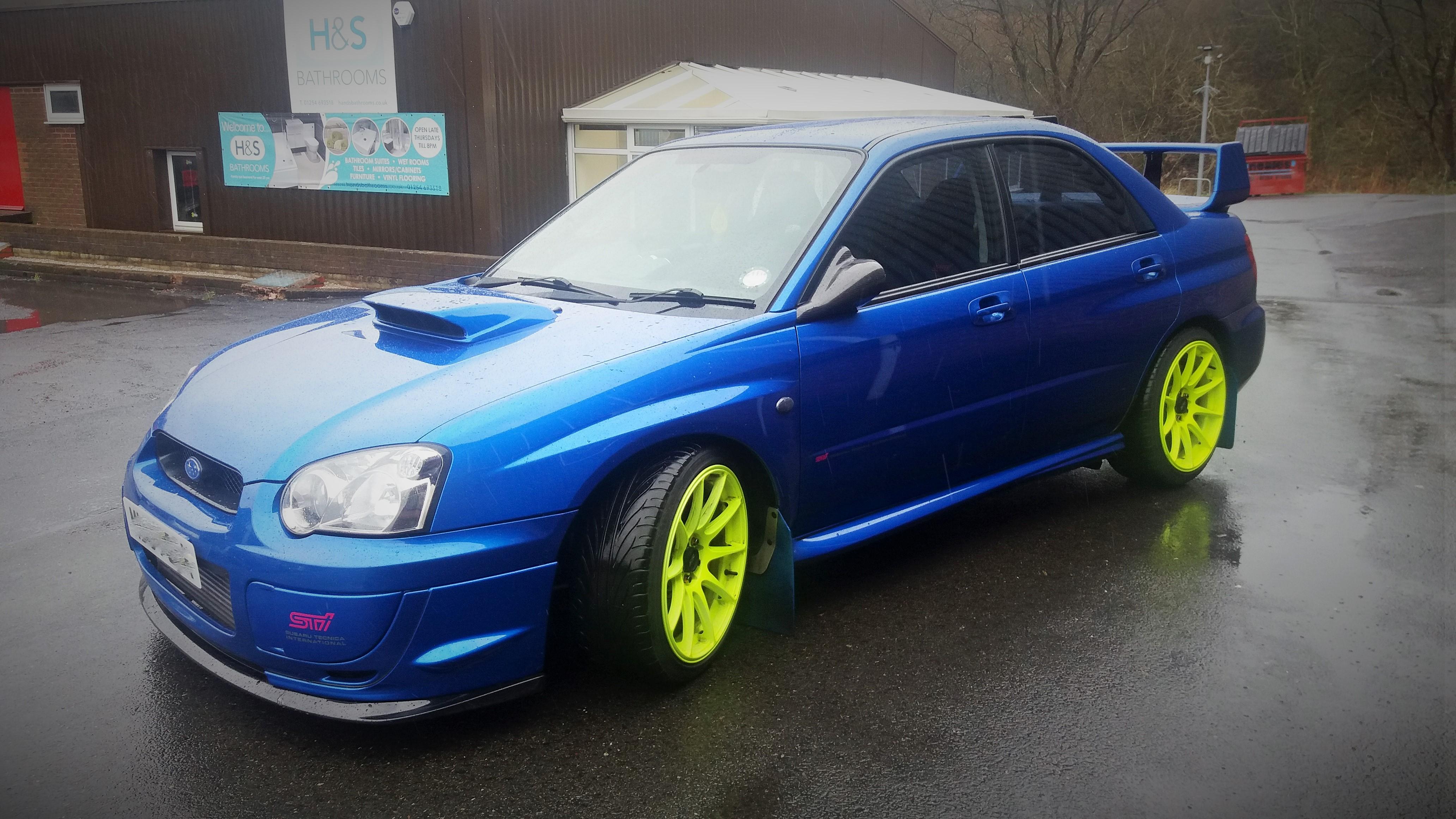 Subaru Wrx Custom >> In For Some Work And A Custom Remap A Subaru Impreza Wrx Sti
