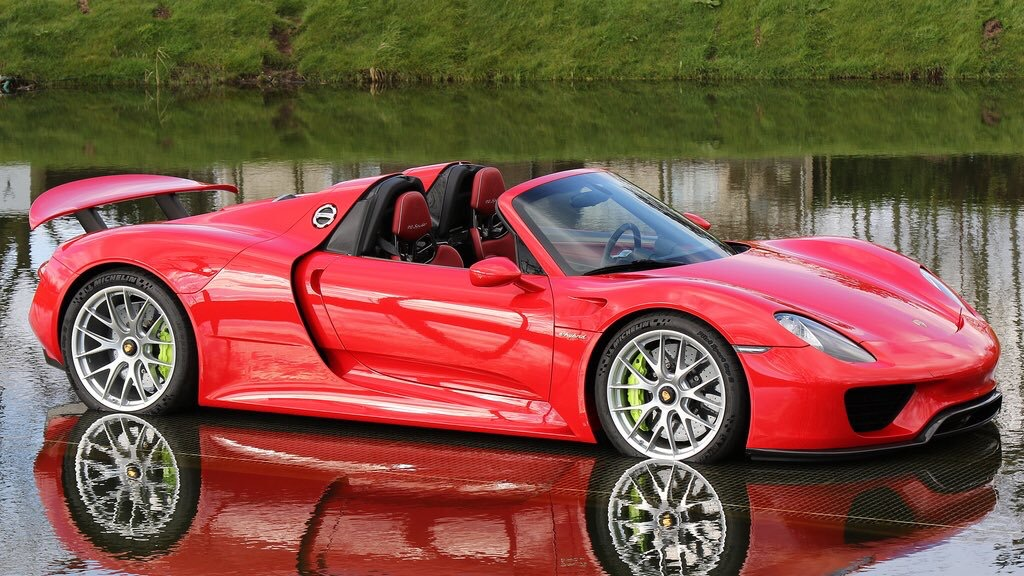 this red on red 918 spyder was for sale at tom hartley for. Black Bedroom Furniture Sets. Home Design Ideas