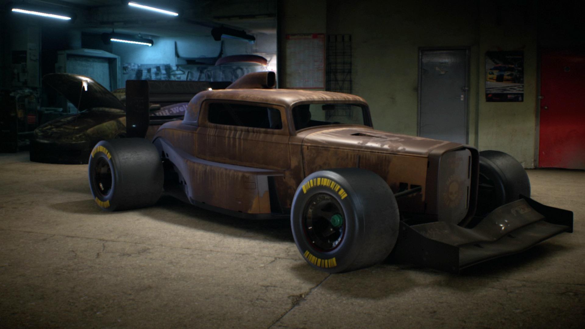 Beck Kustoms F132 Rust Edition