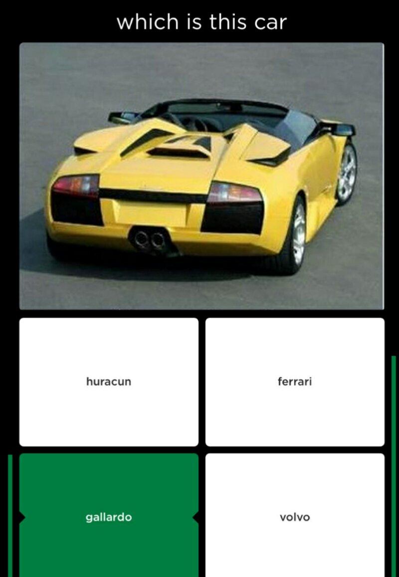 When Non Car Guys Make A Quiz