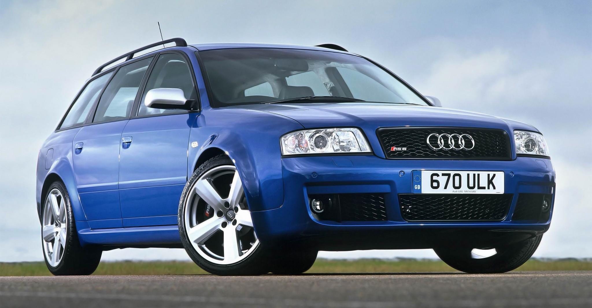 El Audi RS 6 C5 de 2002 podría ser una gran inversión ...