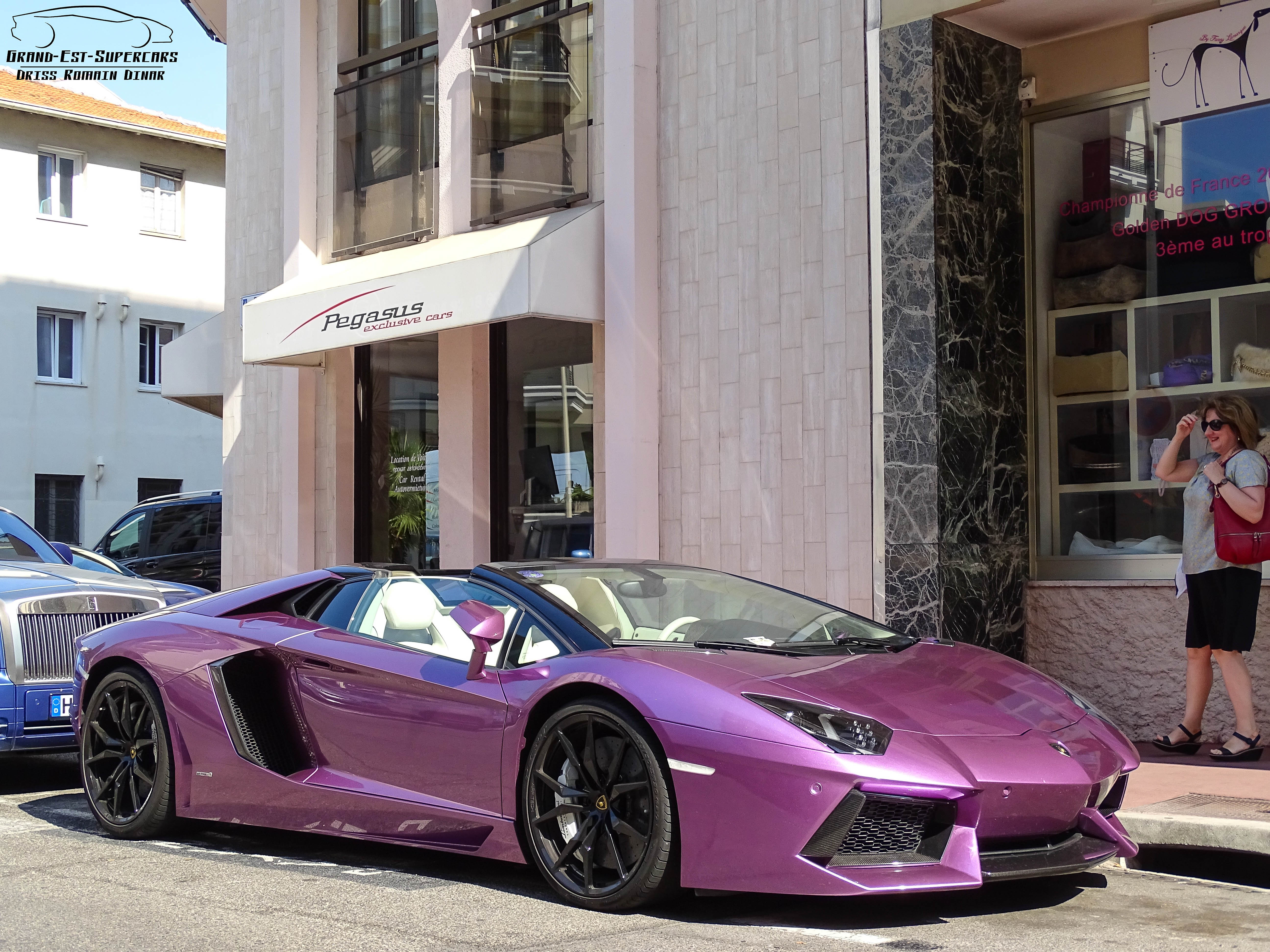 Most Beautiful Color For The Lamborghini Aventador Roadster