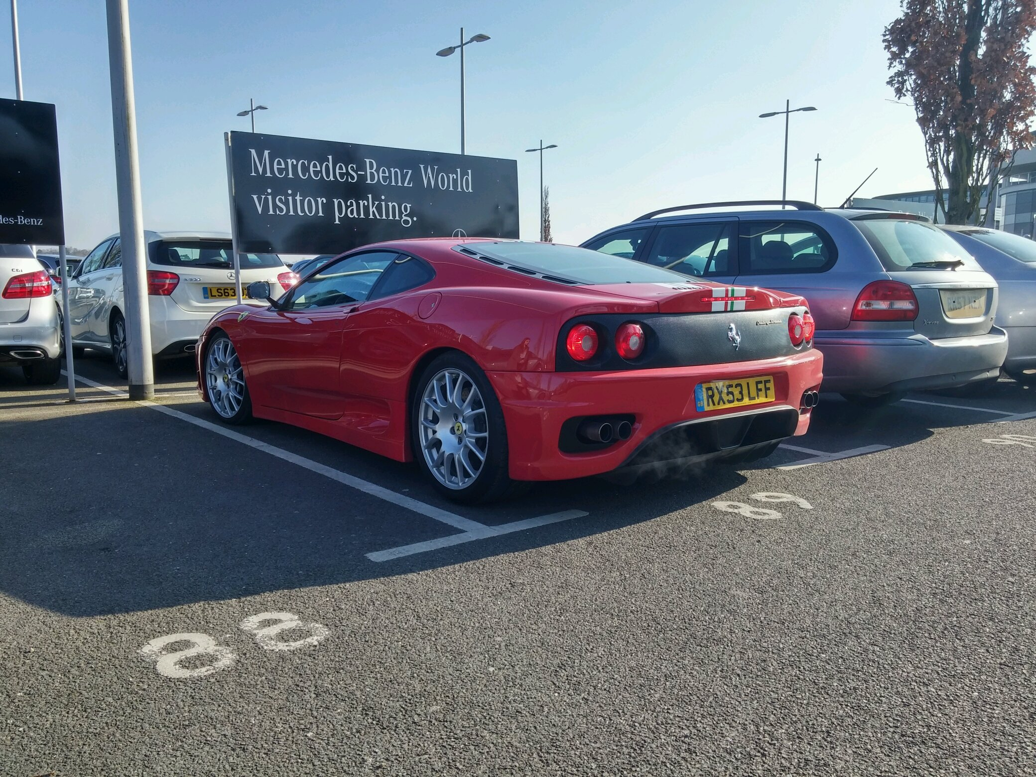 Ferrari 360cs Spotted Today Noise Was Heavenly