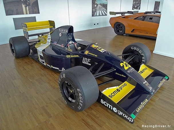 So Lamborghini had an F1 team