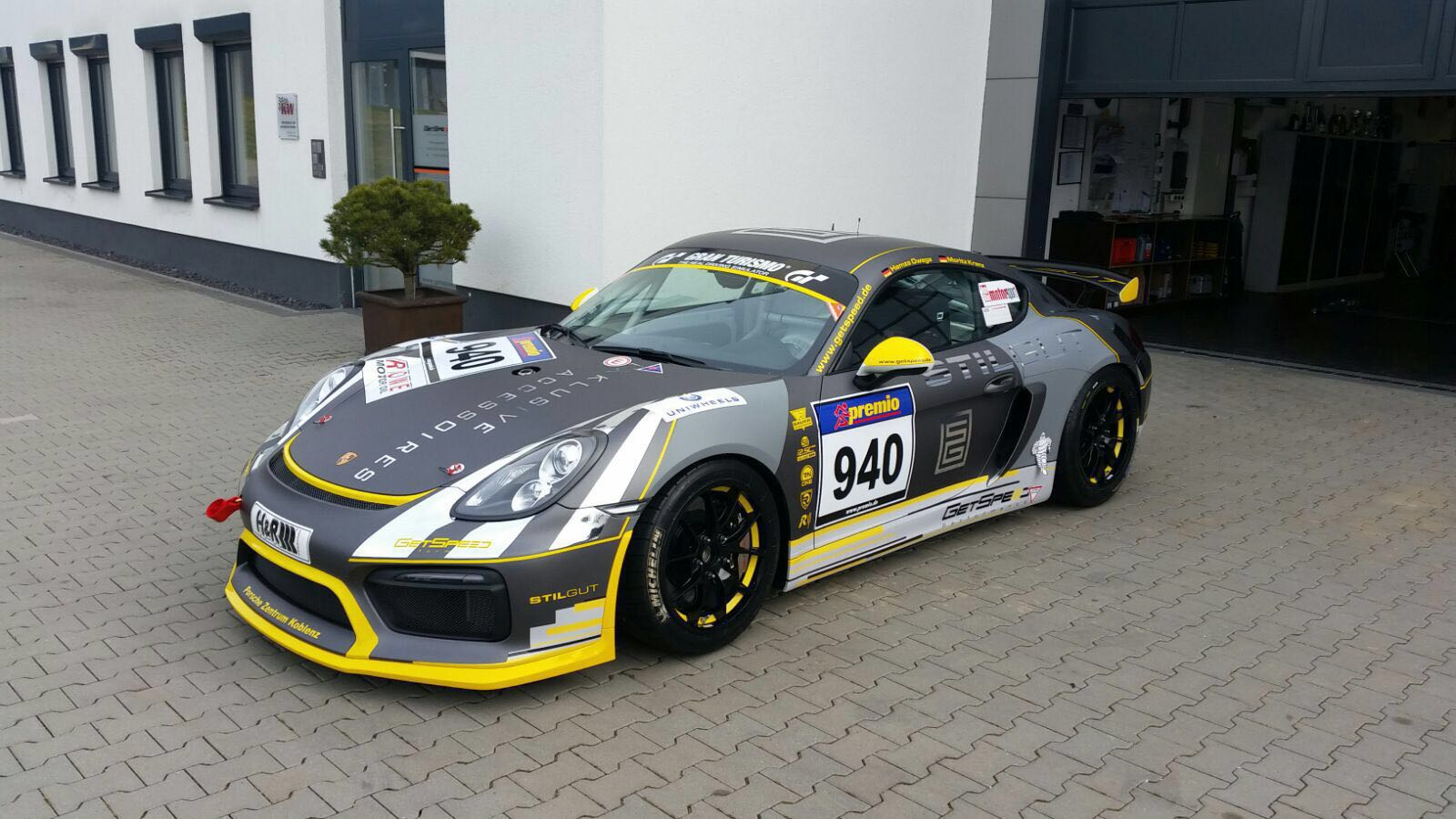 My Ride For This Season Porsche Cayman Gt4 Clubsport