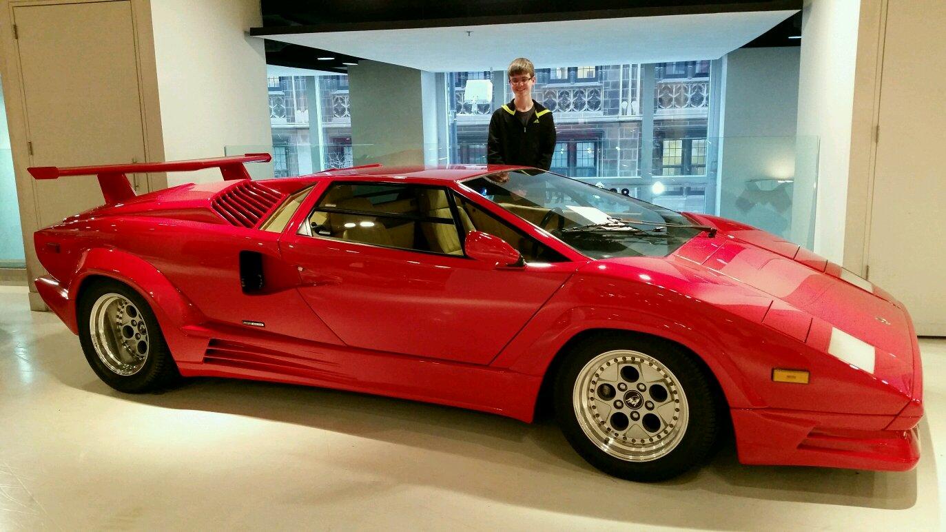Lamborghini   Lamborghini Countach 25th Anniversary Edition At Gold Coast  Auto Gallery In Chicago IL
