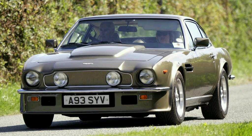 1975 Aston Martin V8 Vantage Ride In Style