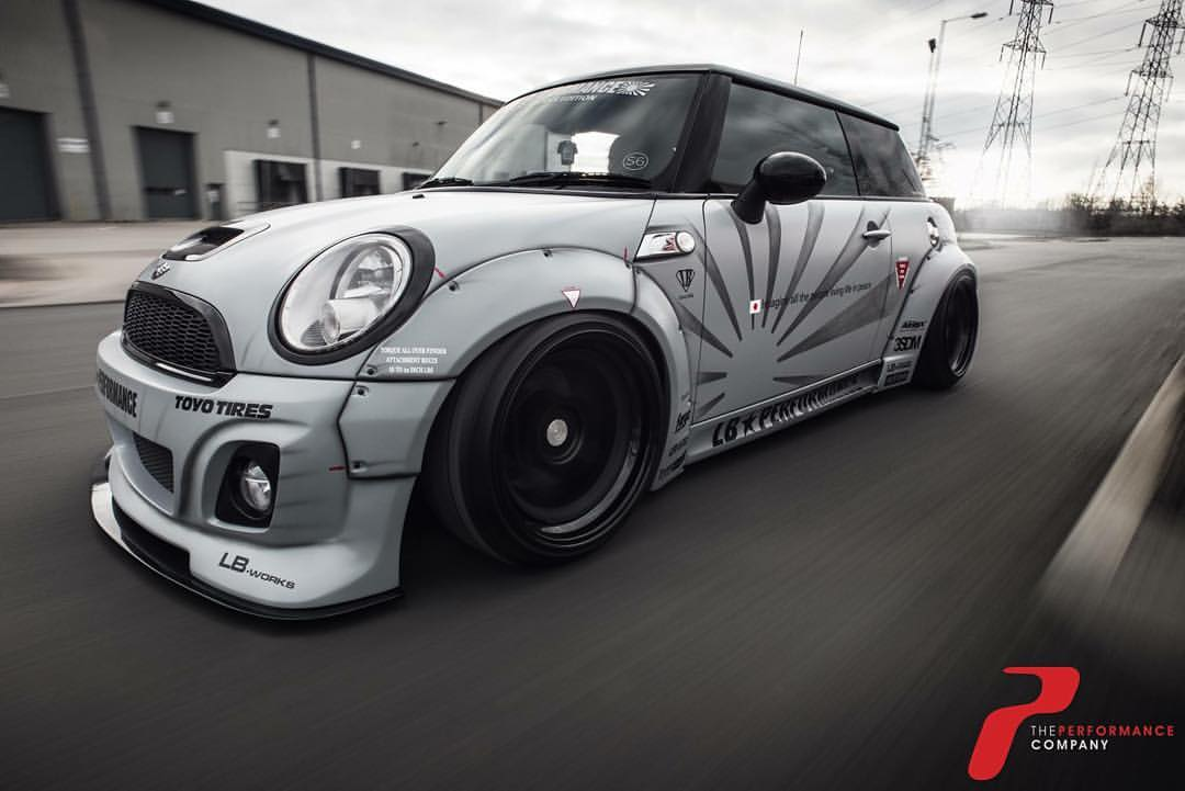 Liberty Walk LB Performance Mini Cooper S Powered By Our Very Own S252 Hybrid Turbo Youve Got To Hand It Them Theres Some Wrench Time Gone Into