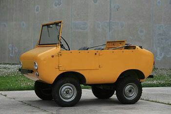 The Italian Ferves Ranger. A micro 4wd with a fiat 500 engine.