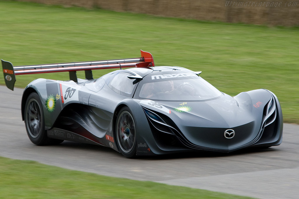 Mazda Furai: a futuristic race car that was built in honour of the ...