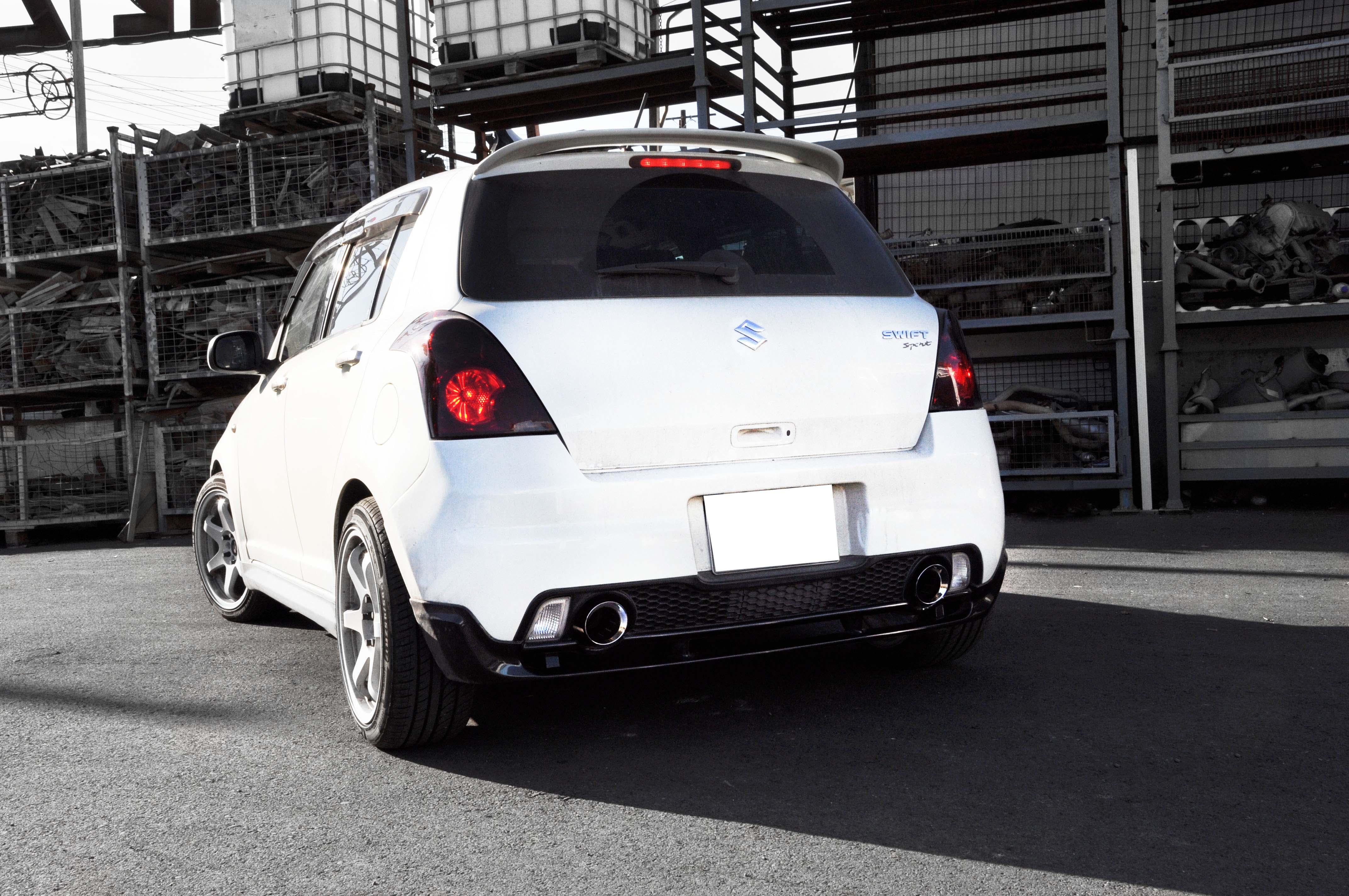 Suzuki Swift 1 5 Sport Exhaust Modification