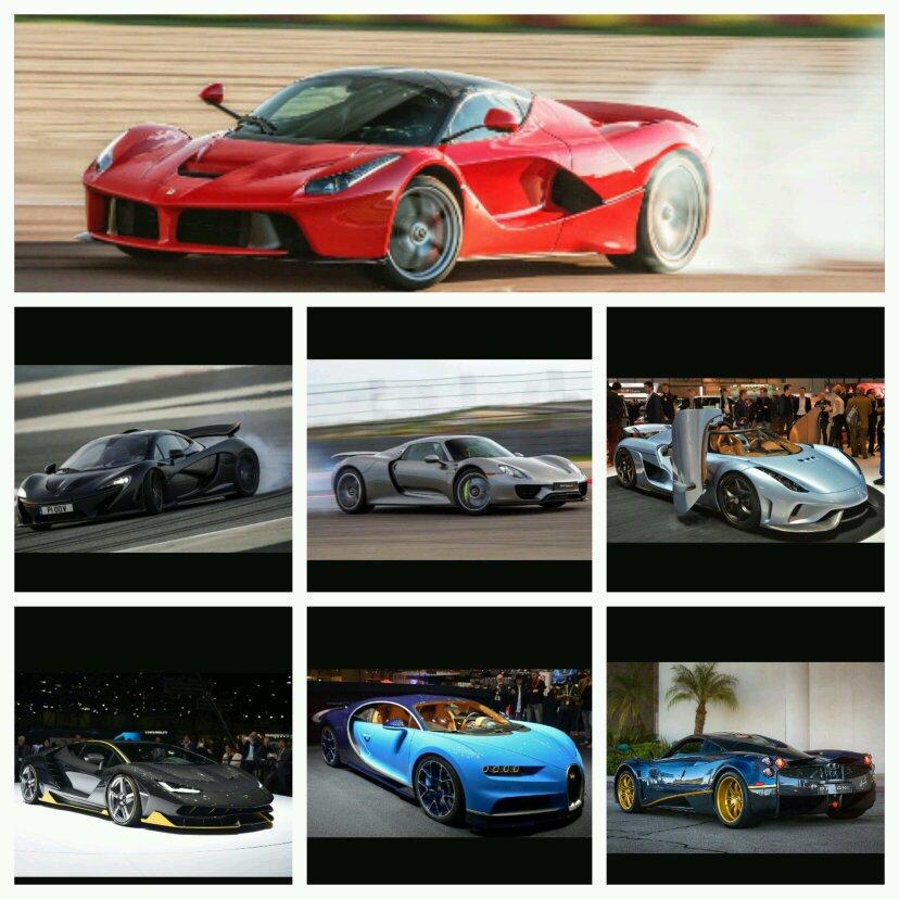 Ferrari vs Koenigsegg vs Pagani vs Mclaren vs Porsche vs Lamborghini
