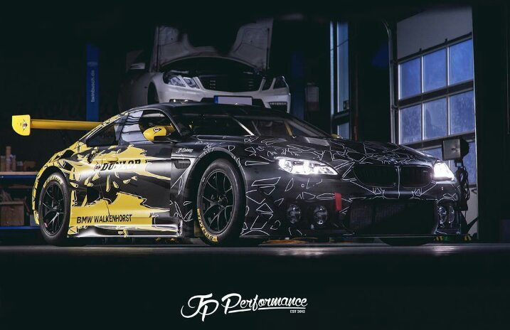 bmw m6 gt3 dunlop art car design by jp performance. Black Bedroom Furniture Sets. Home Design Ideas