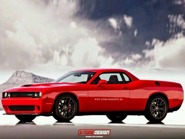 Dodge Challenger Srt Hellcat Cena >> Dodge Challenger SRT Hellcat Ute