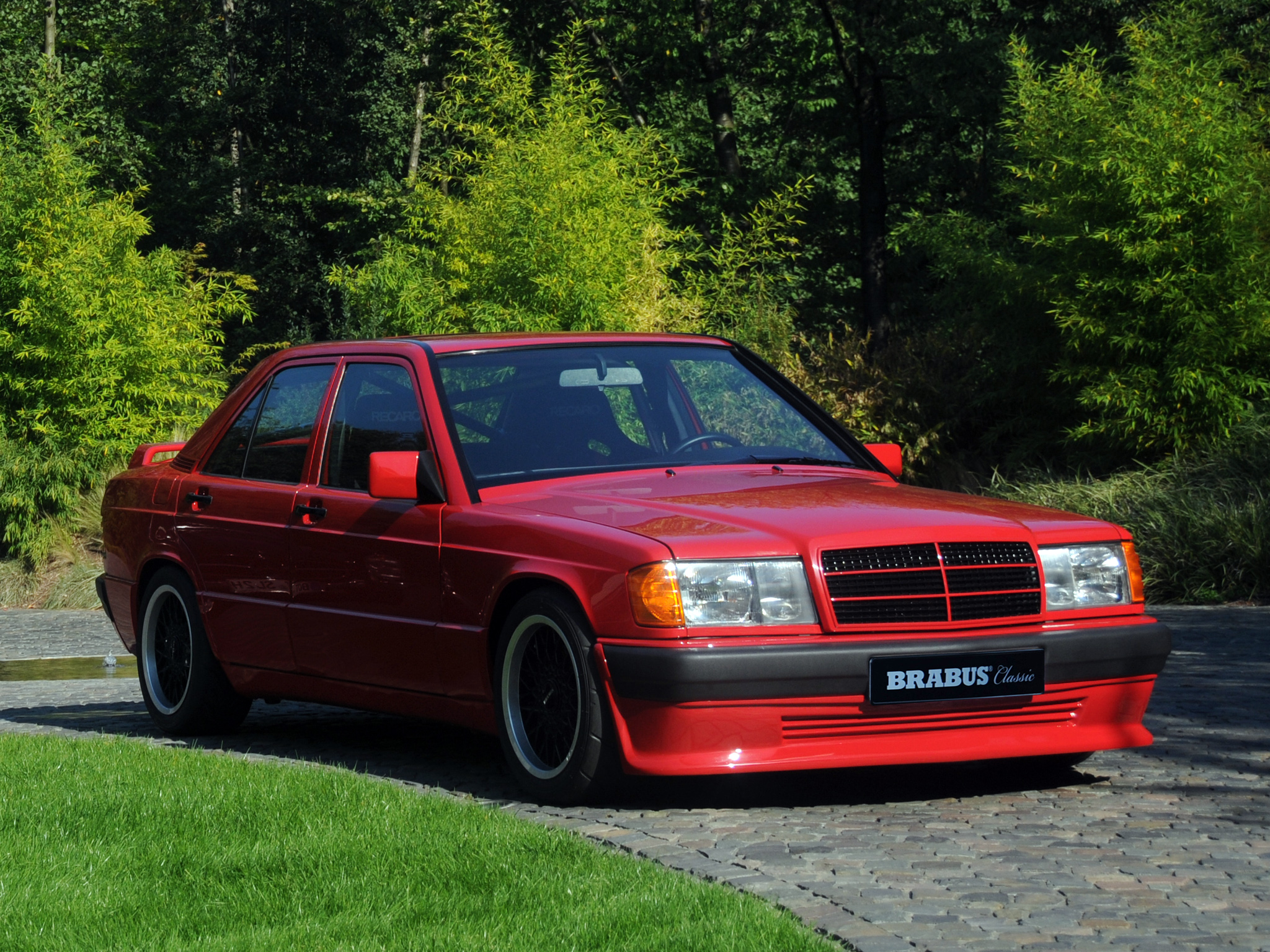 A Mighty Mercedes Brabus 190e 3 6 Inline 6 Cylinder Turbo