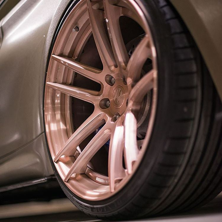 New To Range Z Performance ROSE GOLD Alloy Wheels