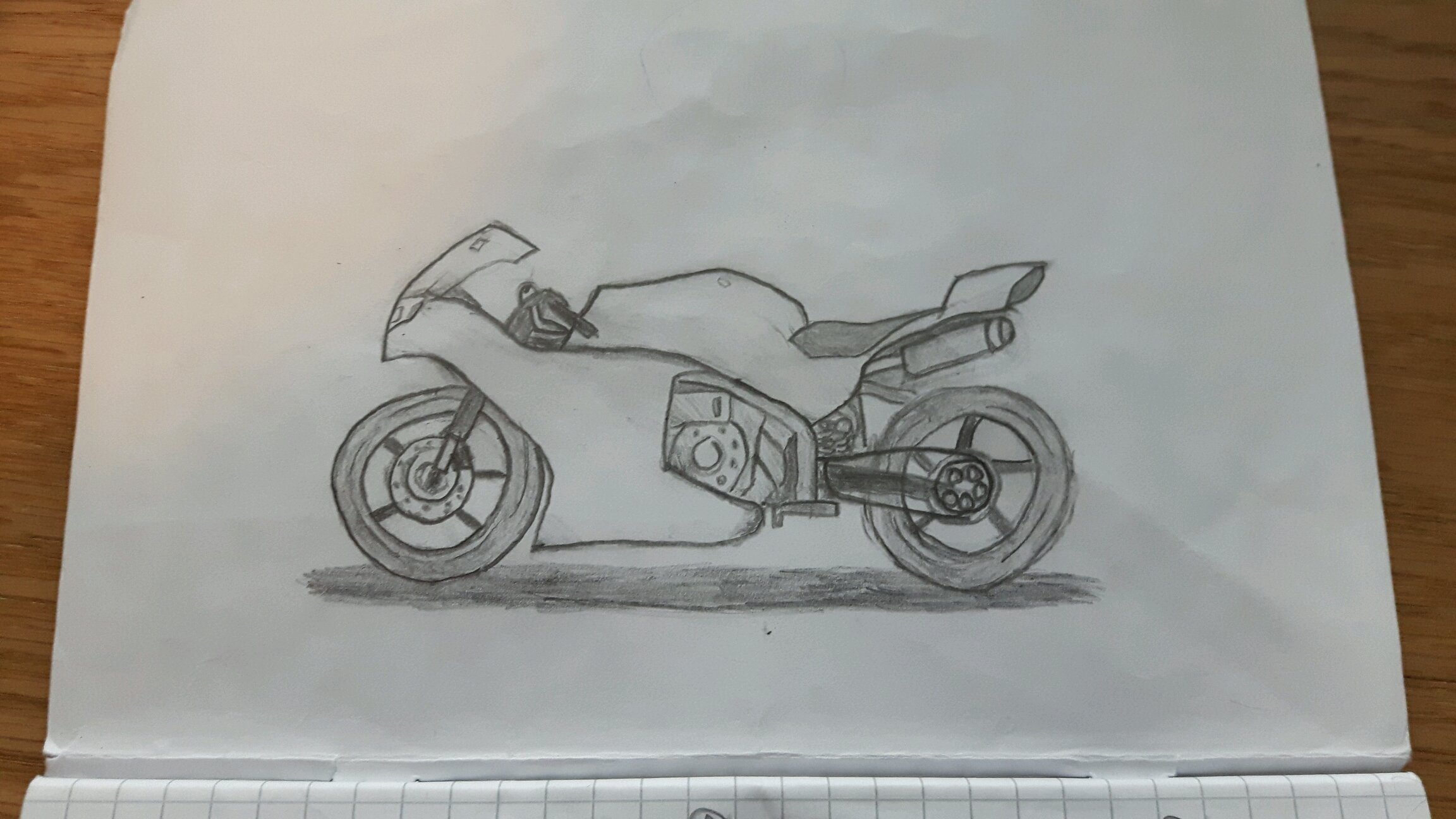 Little Drawing I Made During School Today Sorry For Bad Lighting