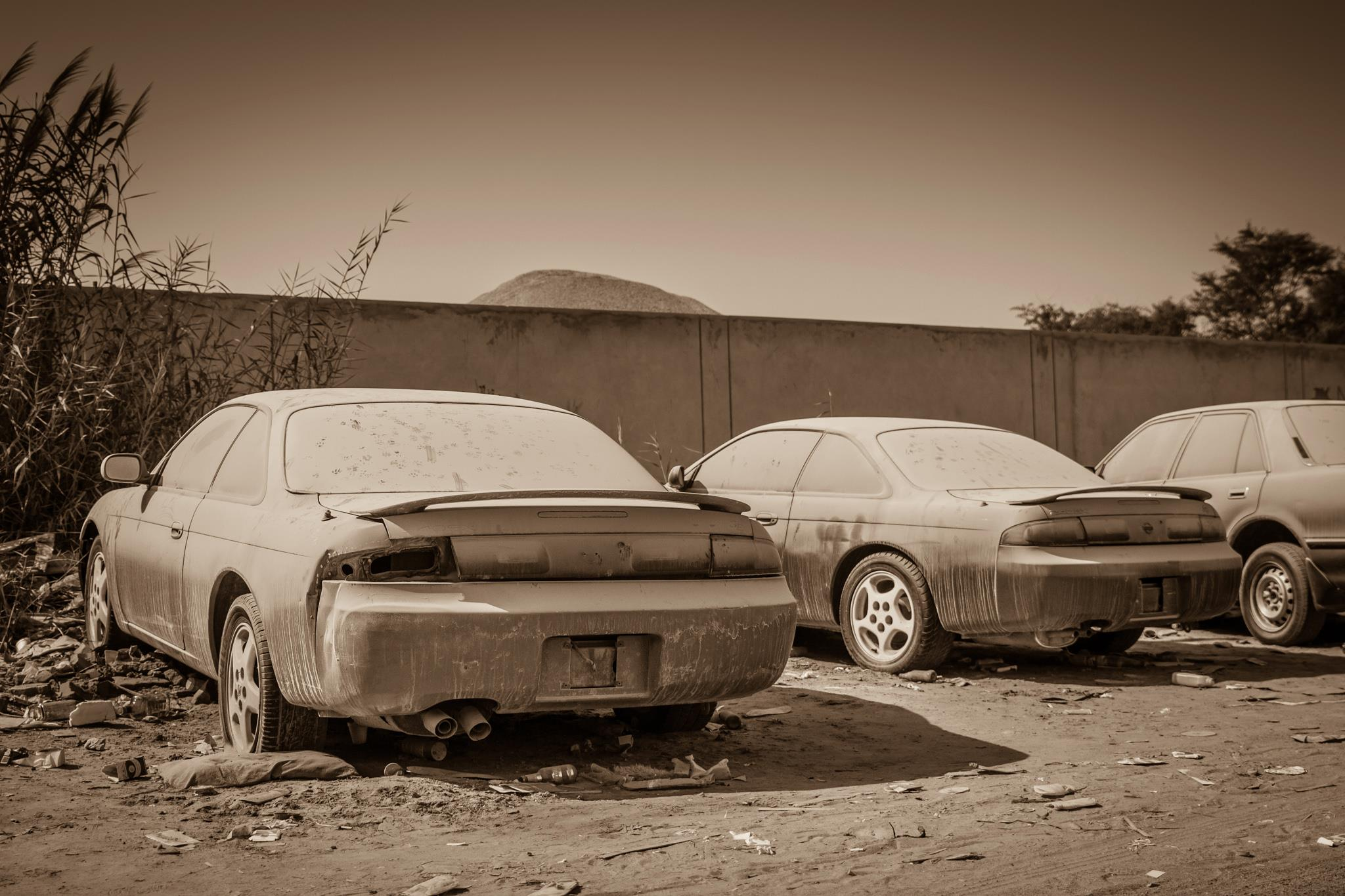 The Desert Giveth And The Desert Taketh Abandoned Cars In Dubai