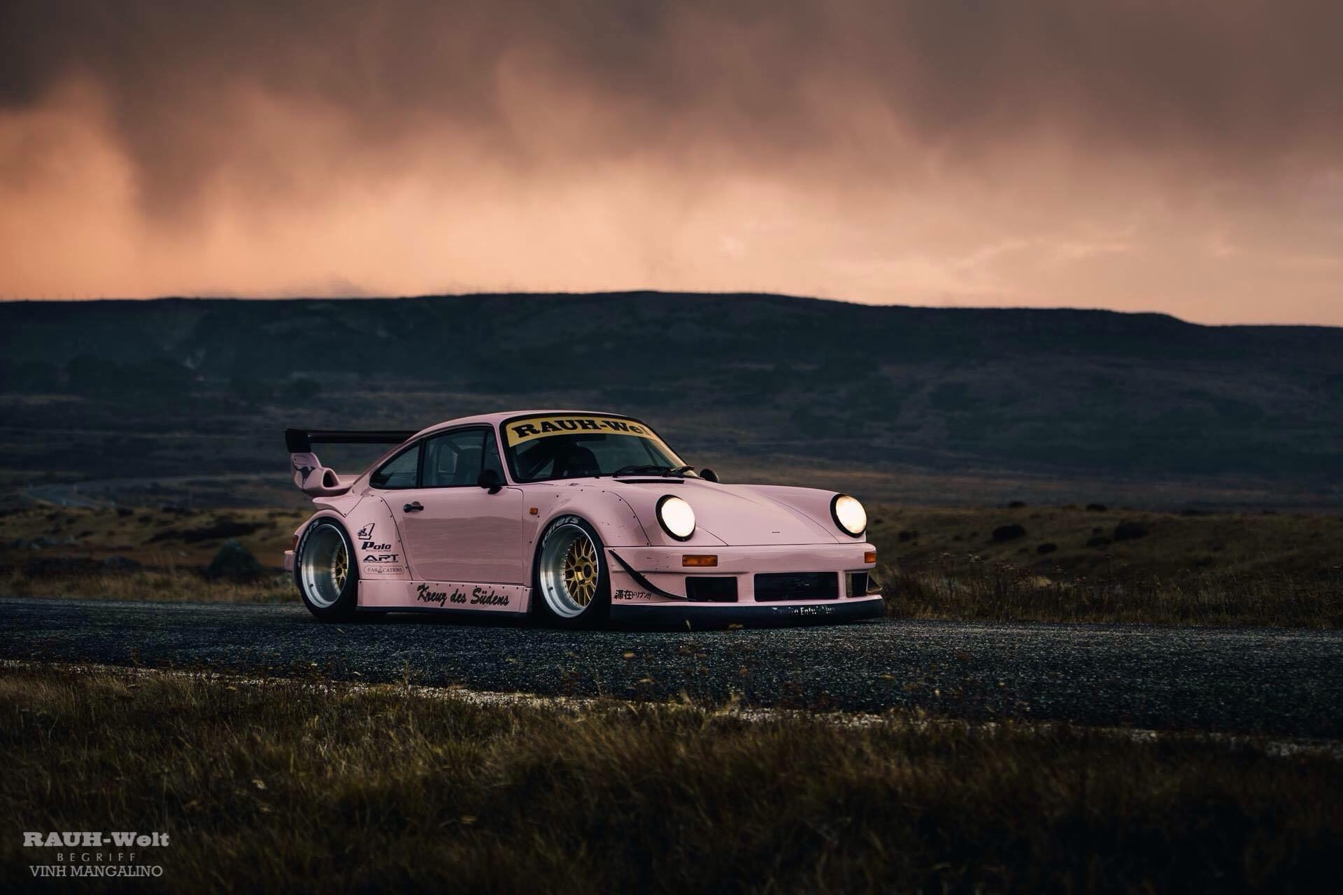 Even In Pink Looks Stunning Rwb