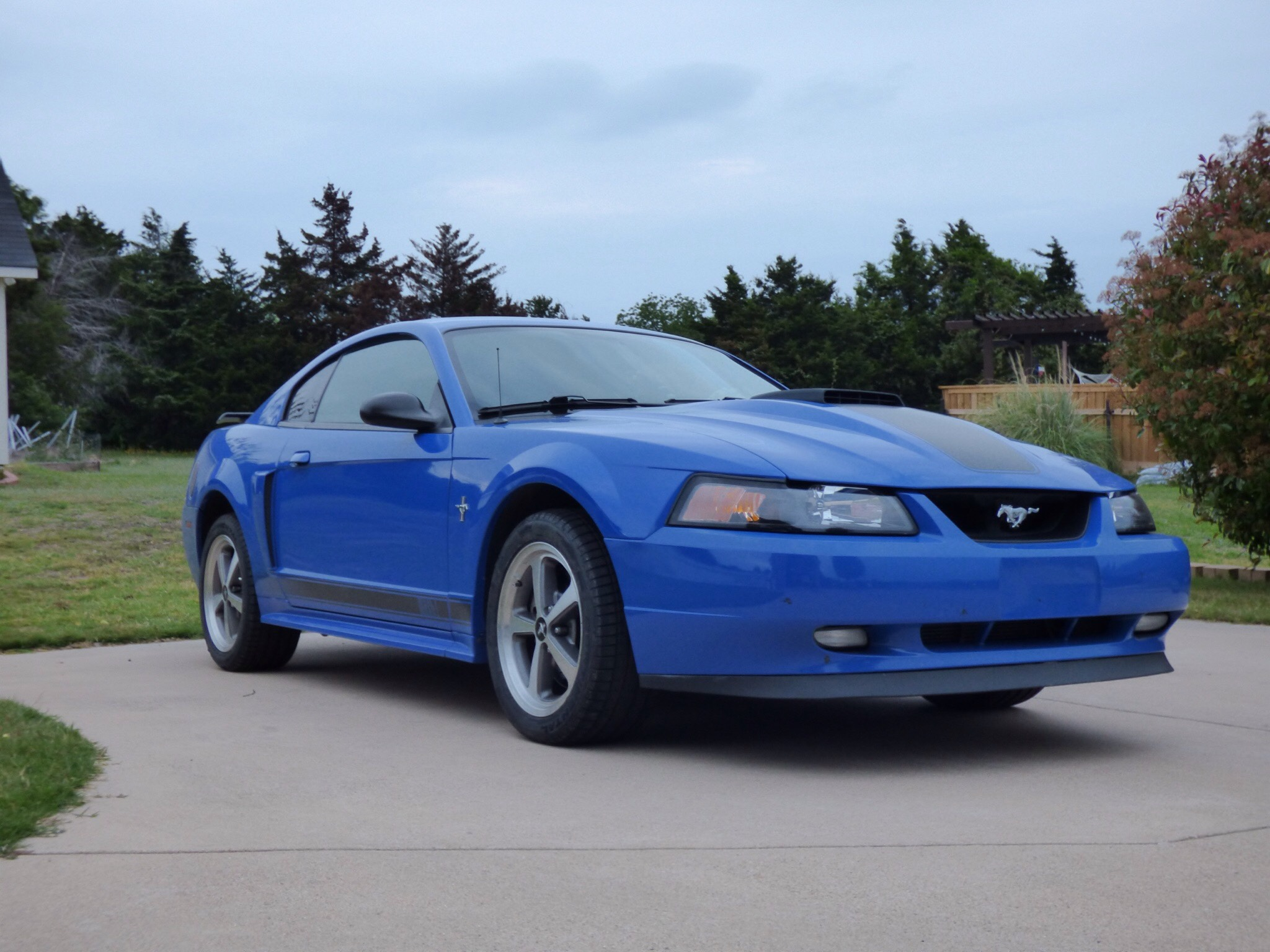 2003 Ford Mustang Mach 1 Azure Blue