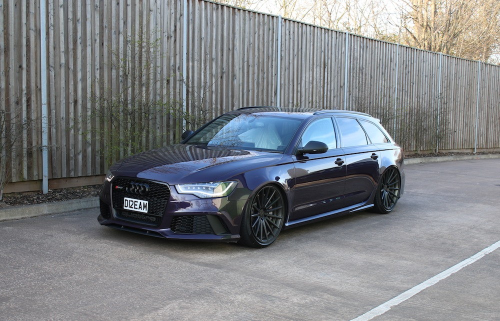 Wagon Goals Audi Rs6 C7 Installed With Accuair And Custom