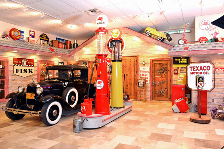 A dream garage for any classic american car collector for American classics garage