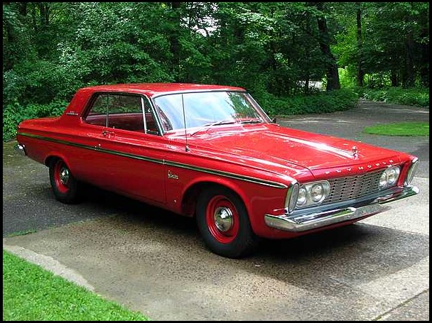 1963 plymouth belvedere max wedge for Plymouth garage doors