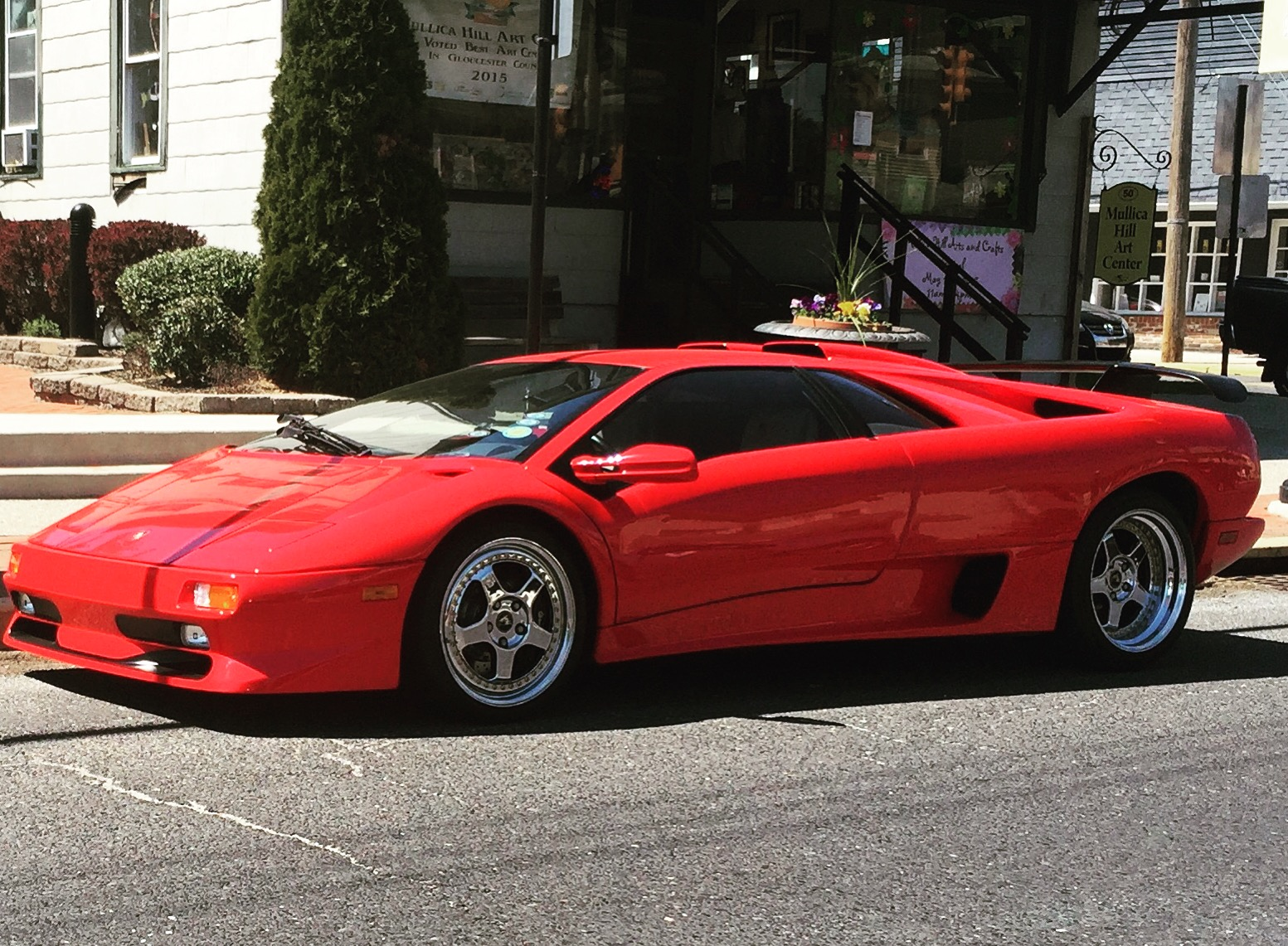 An Older Lamborghini Diablo I Spotted In My Town