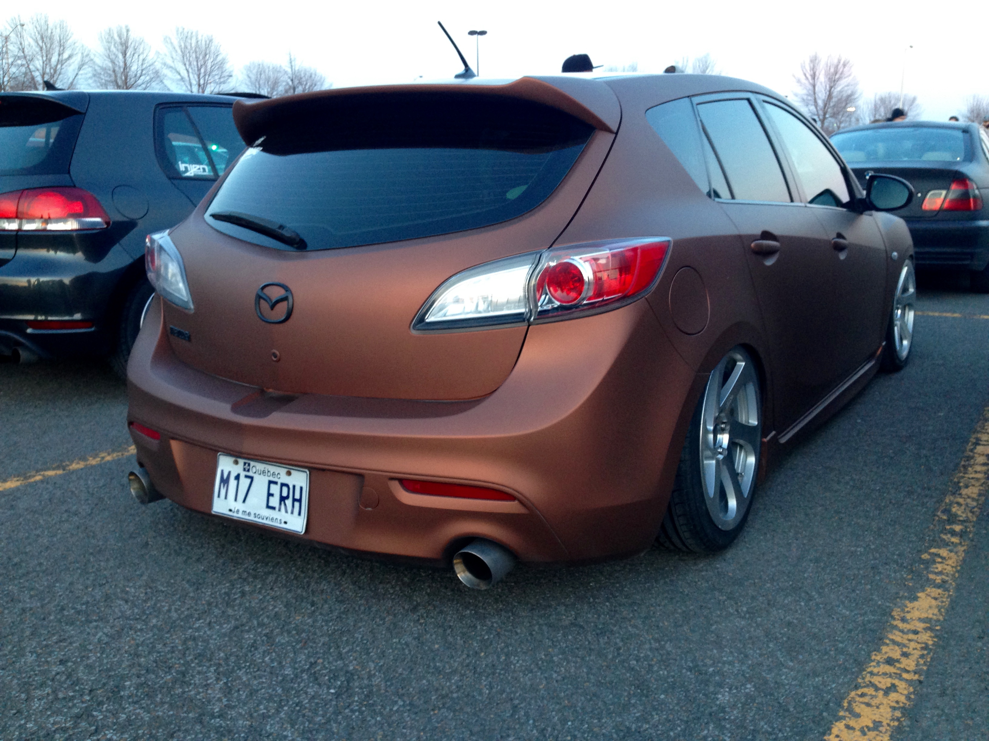 Mazda Speed 3 >> Beautiful Wrap On This Mazda Speed 3