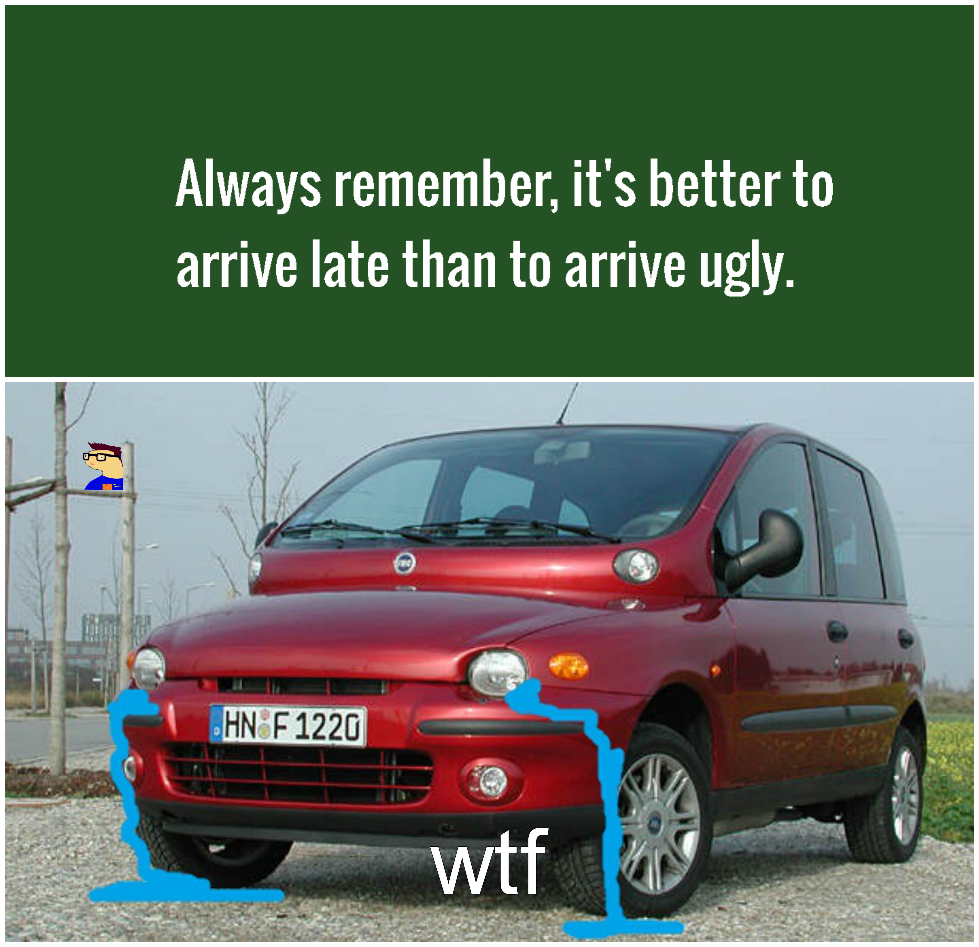 ugly fiat