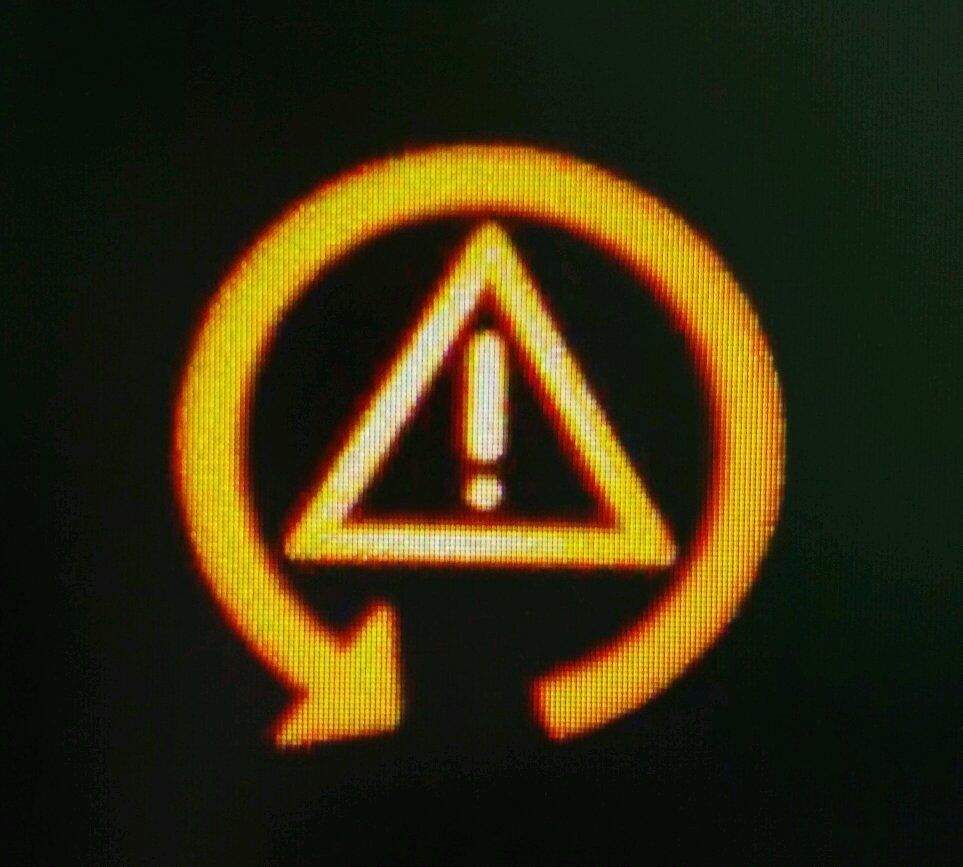 Just Got A Call From The Wife Saying A Warning Light Has Appeared On