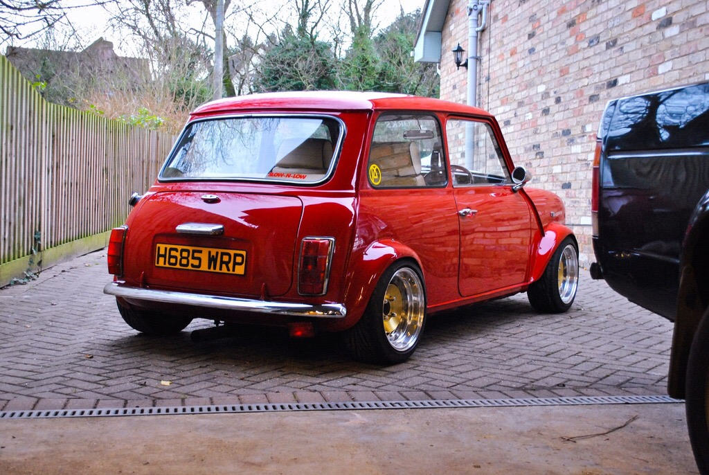 1990 Rover Mini Flame Red
